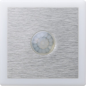 LED-Nachtlicht, 2,8 W, 82 lm, weiß, eckig TELESOUND 44-95014