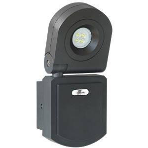 LED wall floodlight, 1 x 10 W TELESOUND 46-51103