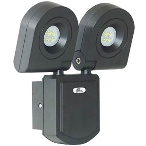 LED wall floodlight, 2x 2 x 10 W TELESOUND 46-52103