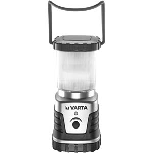 LED-Laterne Camping Lantern, 4 W, 300 lm, silber / grau, 3x D VARTA 18663101111