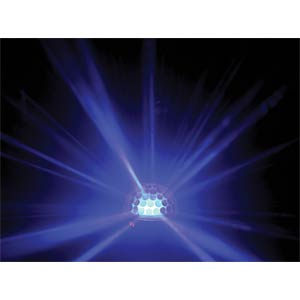 LED-Lichteffekt, RGB Zirkon, 18 W, DMX HQ POWER VDPL300CB