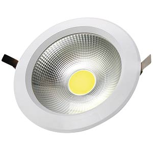 LED COB 30W recessed spotlight, round, warm white V-TAC 1107