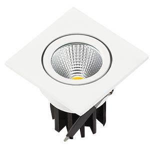 LED-COB-Einbaustrahler - 3 W, eckig, warmweiß V-TAC 1185