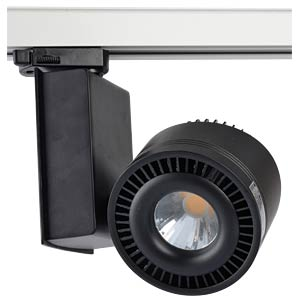 COB- LED- Track light, black, 45 W, CRI95, 3000 K V-TAC 1236