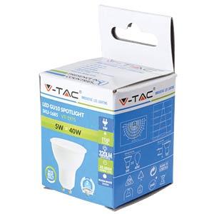 LED GU10, 230 V, 5 W, 3000 K, EEK A+ V-TAC 1685