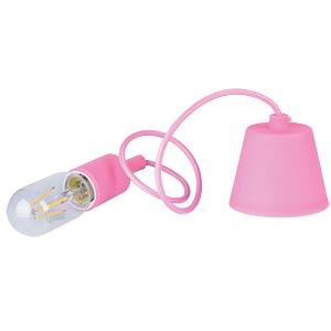 Lampenfassung, E27, Kunststoff, pink V-TAC 3479