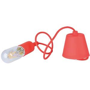Light bulb socket E27 - red V-TAC 3480