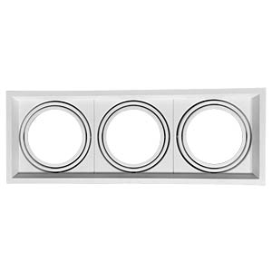 Einbaurahmen - 3x AR111, weiß, EEK A++ - E V-TAC 3577