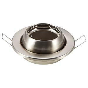 GU10 mounting frame, round, movable, Satin Nickel V-TAC 3594