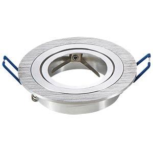 GU10 mounting frame, round, Aluminum Brush V-TAC 3600