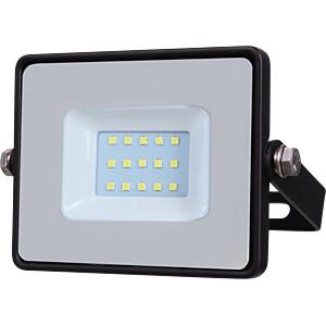 LED floodlight, 10 W, 800 lm, 3000 K, black, IP65, SAMSUNG chip V-TAC 424