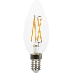 LED-Lampe E14, 4 W, 350 lm, 2700 K, Filament V-TAC 43651