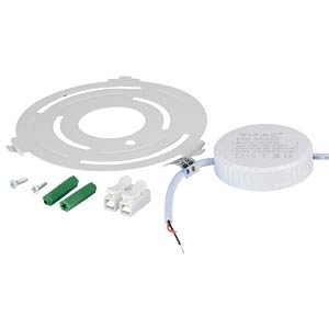 Surface panel, round, 12 W, 6000 K V-TAC 4912