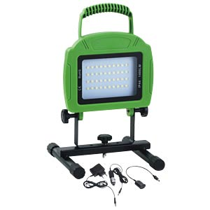 LED-Flutlichtstrahler - 20 W, grün, 4000K, aufladbar, EEK A+ V-TAC 5692