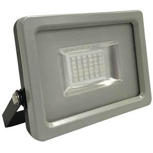 V-TAC LED-Flutstrahler, 20 W, schwarz/grau, blau, EEK A+ V-TAC 5719