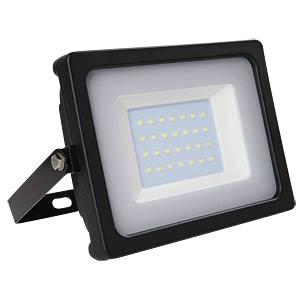 V-TAC LED-Flat-Fluter 30 W, schwarz, 3000 K, EEK A+ V-TAC 5813