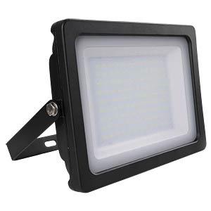 V-TAC LED-Flat-Fluter 100 W, black, 3000 K, EEK A+ V-TAC 5849