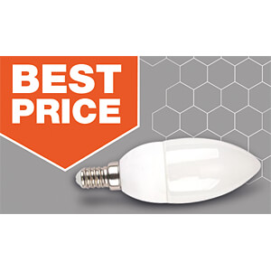 LED-Lampe E14, 3 W, 250 lm, 2700 K V-TAC 7196