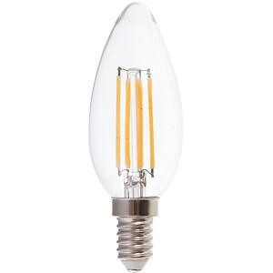 LED-Lampe E14, 6 W, 600 lm, 4000 K, Filament V-TAC 7424