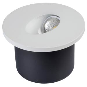 LED Steplight - 3W, round, 3000K V-TAC 1207