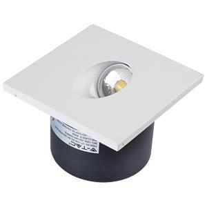 LED-Treppenstufenlicht - 3 W, quadratisch, 3000 K, EEK A V-TAC 1209