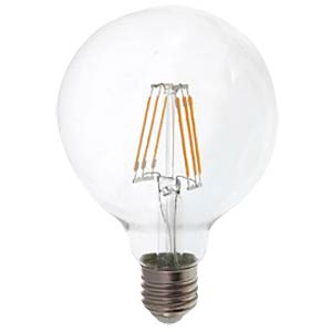 Filament LED Ball, 6W, E27, 2700K V-TAC 4305