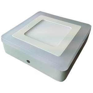 Surface panel, square, 6 W + 2 W, 4500 K V-TAC 4923