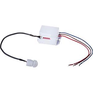 VT-5082 - Infrarot mini Einbau-Bewegungsmelder