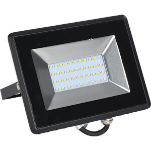 LED-Flloodlight, 30 W, 2550 lm, 6500 K, black V-TAC 5954