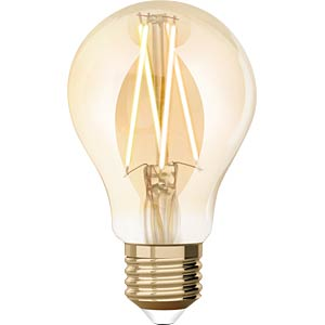 WIZ 1410126671 - WiZ Whites Filament A60 E27 Amber