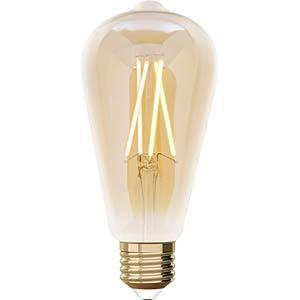 WIZ 1410186671 - WiZ Whites Filament ST64 E27 Amber