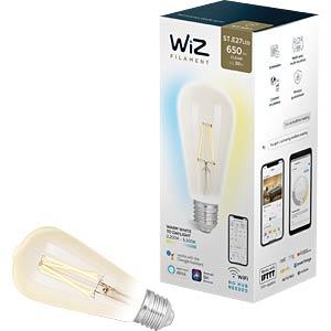 WIZ 1410186971 - WiZ Whites Filament ST64 E27 Clear
