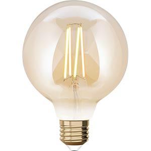 WIZ 1410189671 - WiZ Whites Filament G95 E27 Amber