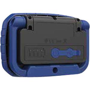 LED-Arbeitsleuchte Work Bullseye, 1000 lm, Akku, schwarz / blau XCELL 144138