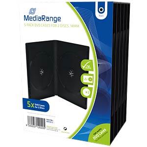 DVD-Leerhülle für 2 Disc, 5er Pack MEDIARANGE BOX30-2