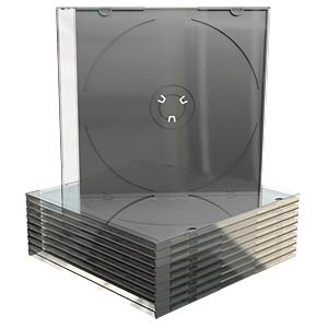 CD Jewelcase for 1 disc, Pack 10 MEDIARANGE BOX32