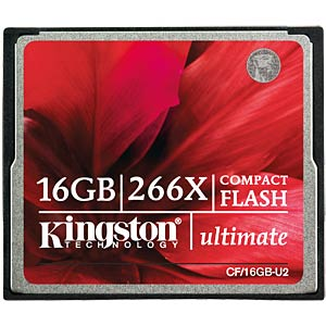 CF-Card 16GB Ultimate 266x KINGSTON CF/16GB-U2