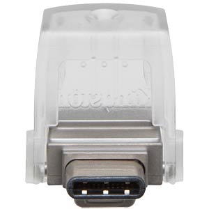 DataTraveler microDuo 3C USB 3.0 stick, 32 GB KINGSTON DTDUO3C/32GB