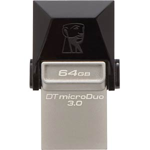 USB3.0 Flash Memory 64GB DataTraveler mD3 KINGSTON DTDUO3/64GB
