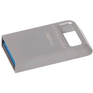 USB3.0-Stick 32 GB DataTraveler Micro 3.1 KINGSTON DTMC3/32GB