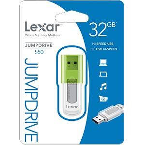 USB2.0 32GB JumpDrive S50 LEXAR LJDS50-32GABEU
