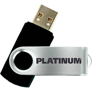 USB2.0-Stick 64GB Platinum TWS PLATINUM 177574