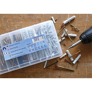 Q-Fix screws + plugs set 107-piece REISSER SCHRAUBENTECHNIK 67333/4