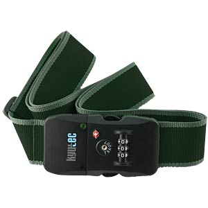 Bluetooth Koffergurt mit TSA-Zahlenschloss FREI