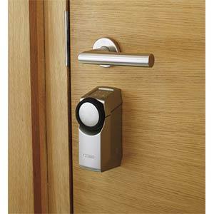 Funk-Türschlossantrieb HomeTec Pro, weiß ABUS SECURITY TECH ABHT10123