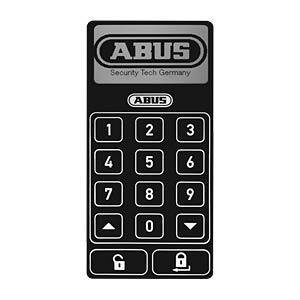 Funk-Tastatur HomeTec Pro, weiß ABUS SECURITY TECH ABHT10125