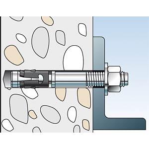 FISCHER FAZ Ankerbolzen, 10 mm, 2 Stk FISCHER BEFESTIGUNGSSYSTEME 52267