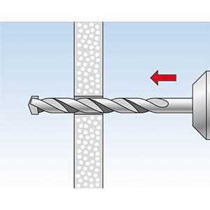 Dübel DUOPOWER 10 x 50 mm FISCHER BEFESTIGUNGSSYSTEME 555010