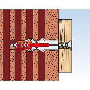 Dübel DUOPOWER 6 x 30 mm FISCHER BEFESTIGUNGSSYSTEME 555006