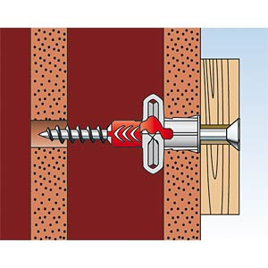 Dübel DUOPOWER 5 x 25 mm FISCHER BEFESTIGUNGSSYSTEME 555005